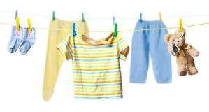Kinderkleidung auf wäscheleine  Aktuelles - Mit Gott groß werden